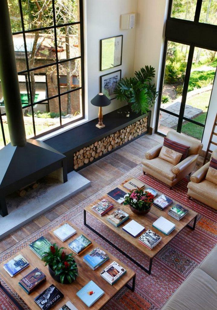 Firewood storage ideas the owner builder network - Ideas casas de campo ...