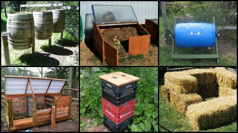 Diy Compost Bin Ideas The Owner Builder Network