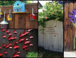 Fence Decor Ideas