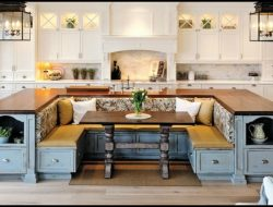 Kitchen with Built-in Seating