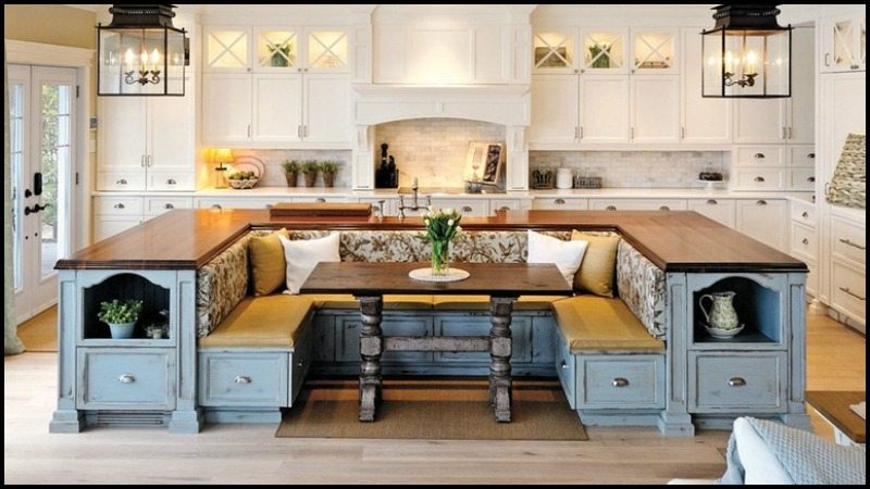 Kitchen Island With Built In Seating Inspiration