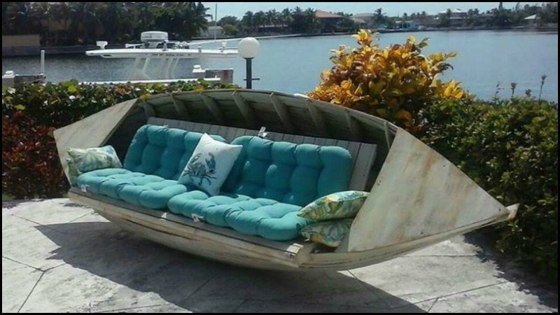 Repurposed Old Boats