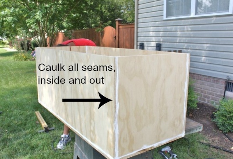 diy waterproof outdoor storage bench | Quick Woodworking ...