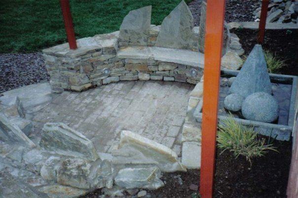 Stone Seating