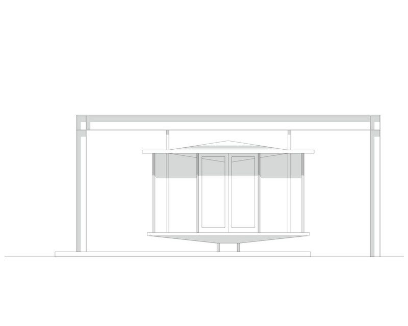 The Hanging Tea House - Elevation 02