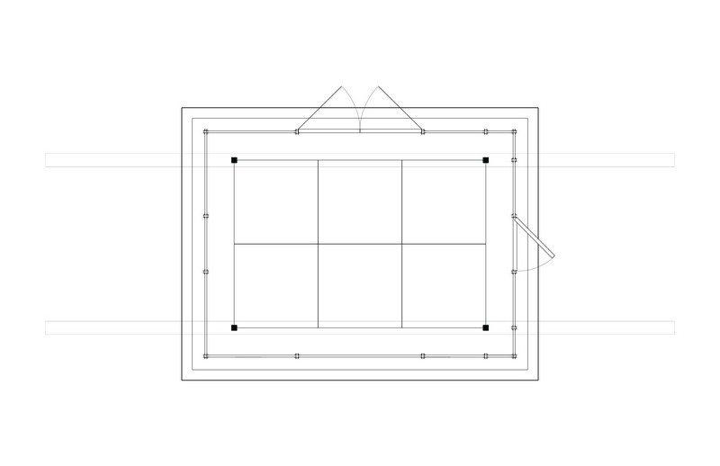 The Hanging Tea House - Floor Plan