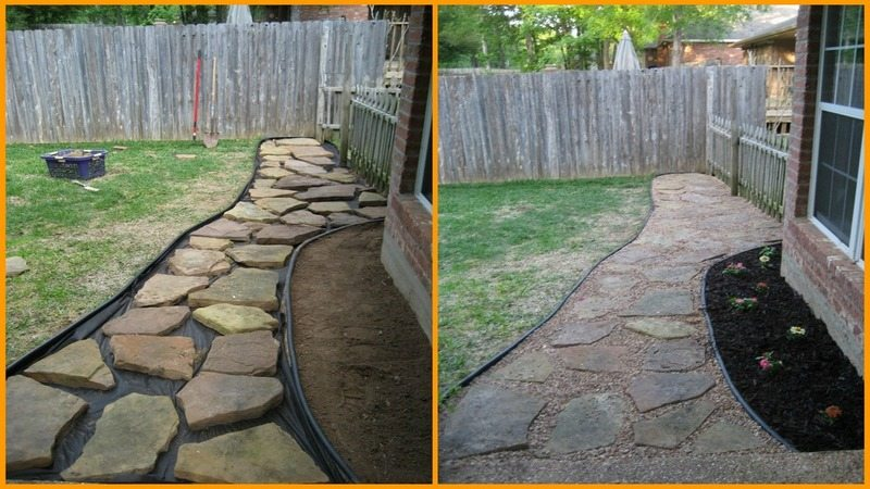 DIY Flagstone Pathway - The Owner-Builder Network