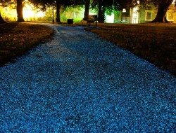 Glow-in-the-Dark Paths And Driveways - Smart Home Energy