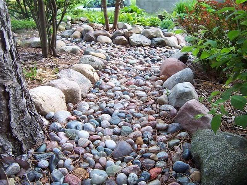 Dry creek beds - Elliotts lawn maintenance, LLC