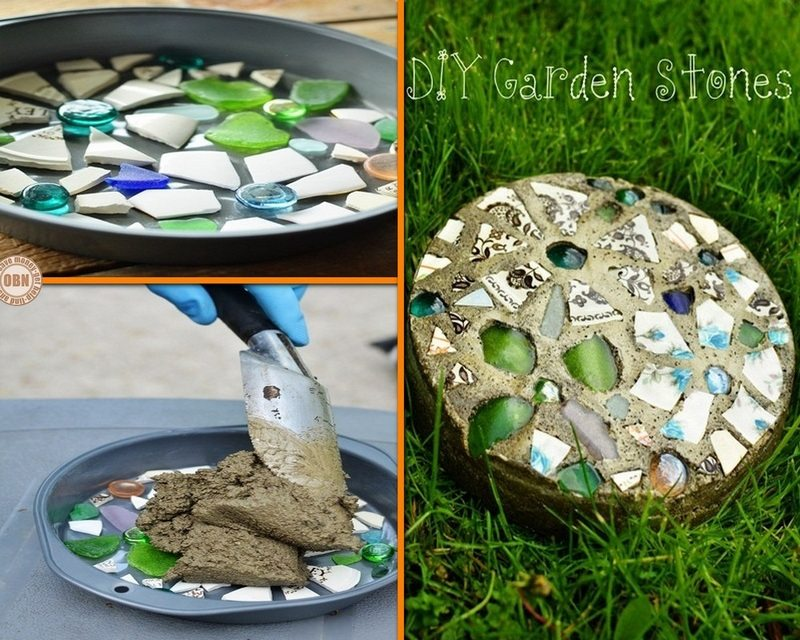 Do-It-Yourself Garden Stepping Stones - The Owner-Builder Network