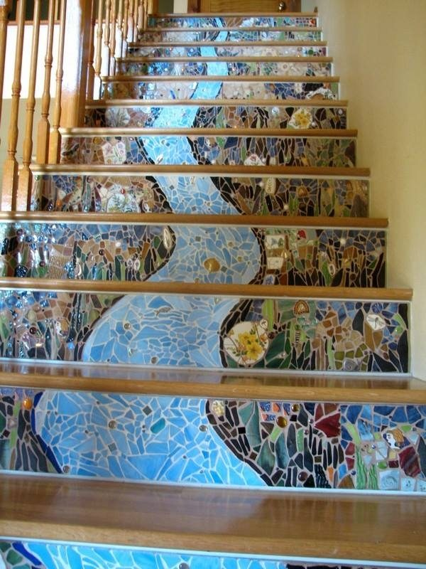 Do you think that the rest of the house is as unique as the staircase?