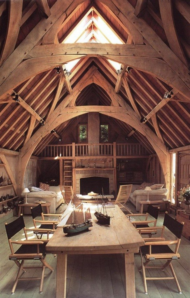 This great room is in the Seagull House in Devon, and I personally think it is beautiful.