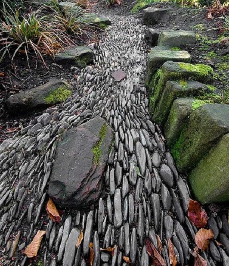 Landscaping With River Rock Dry River Rock Garden Ideas: The Owner-Builder Network