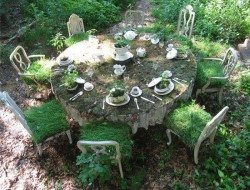 If you have a wild corner in your garden, you could always create a feature like this!