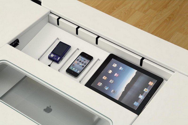 Connect-It desk detail - by Monarch