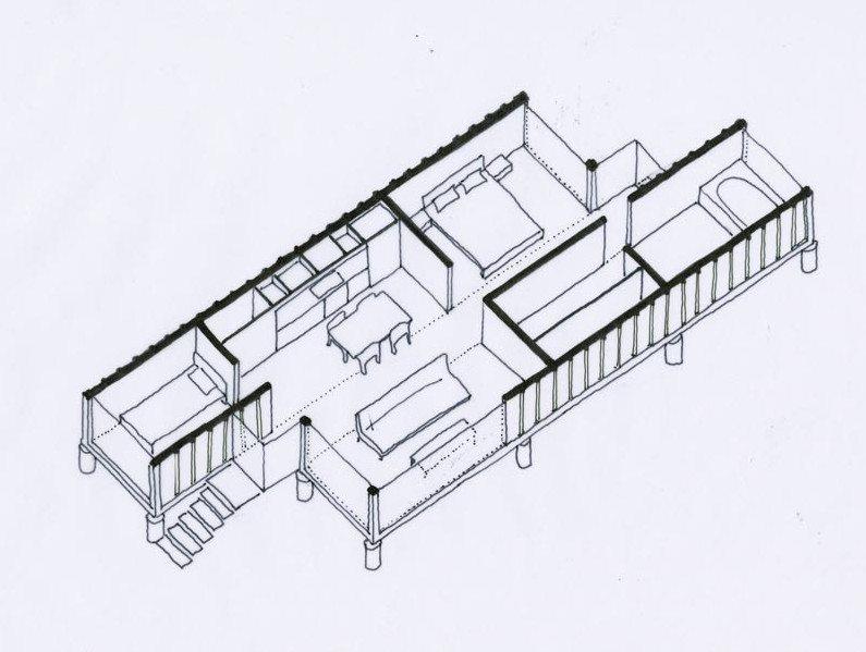 Container of hope  -  floorplan