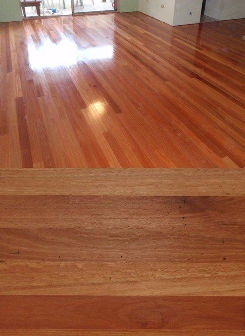 Flooded Gum floor