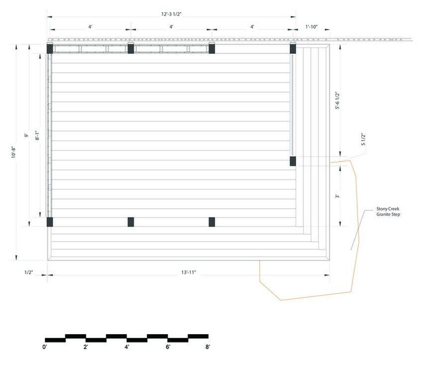 Kernan Teahouse - floorplan