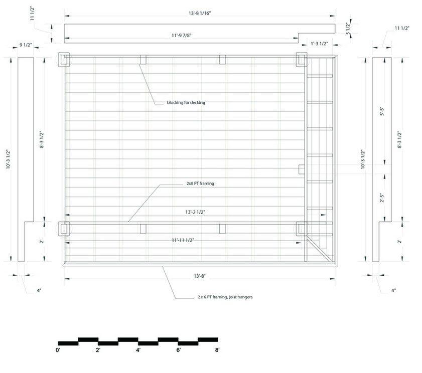 Kernan Teahouse - footings plan