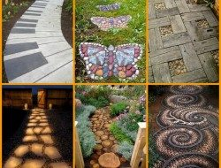 Whether it's the way to the front door or the entry to a garden room, paths come in a myriad of styles. Here are some ideas for you to use or adapt according to your needs…