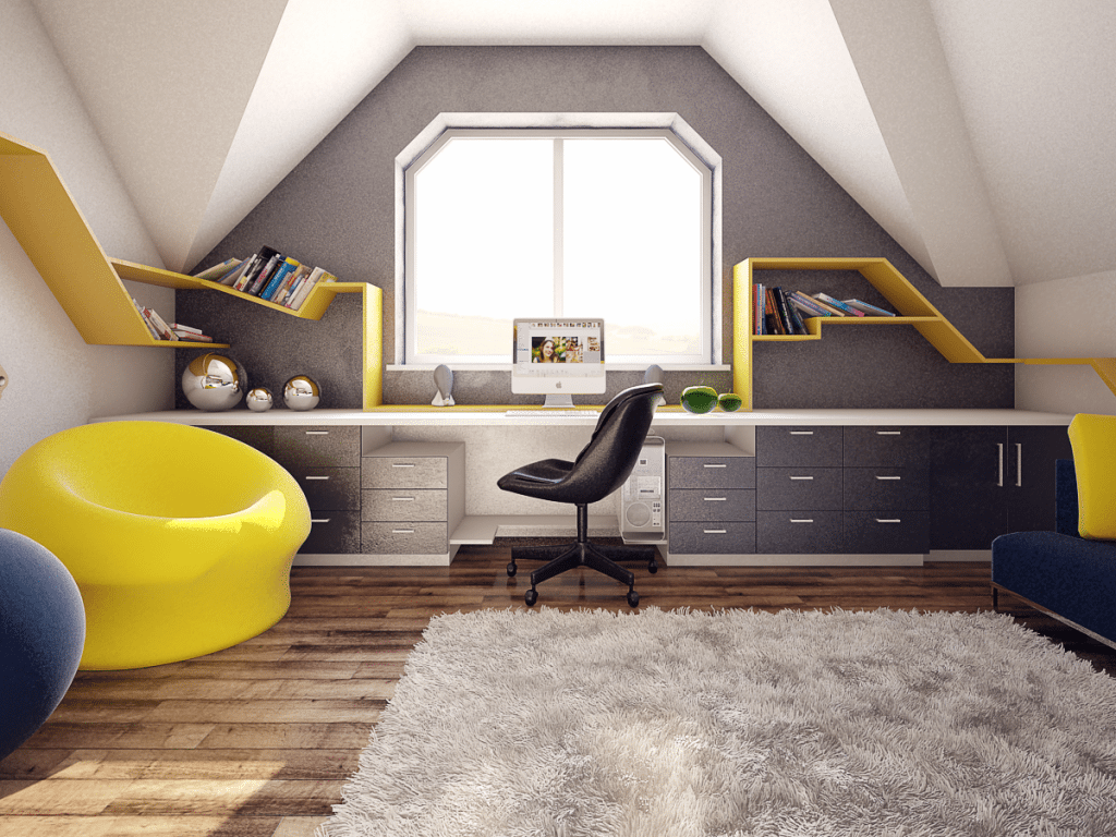 Home office by FH Studio Belarus