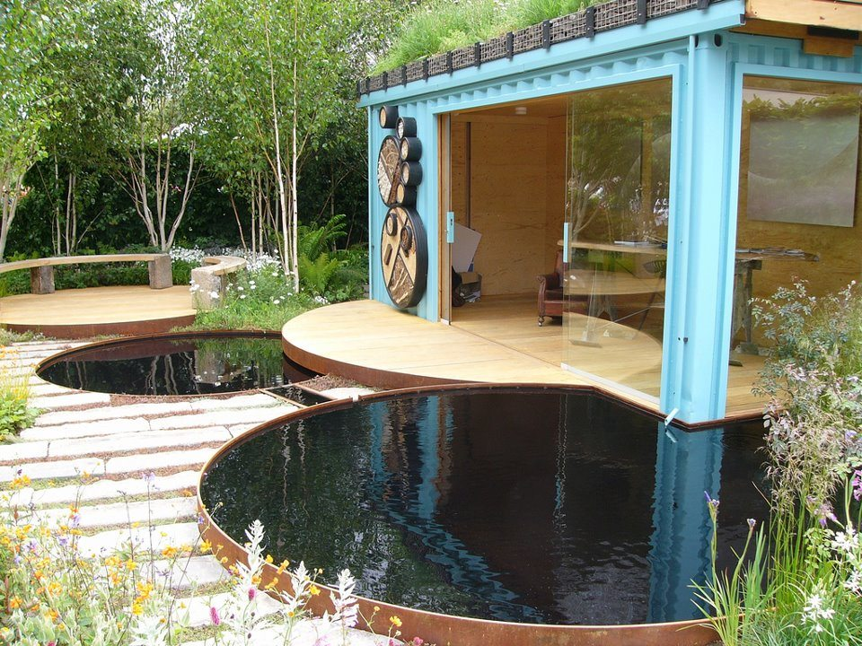 Done for the Chelsea Flower Show in 2012