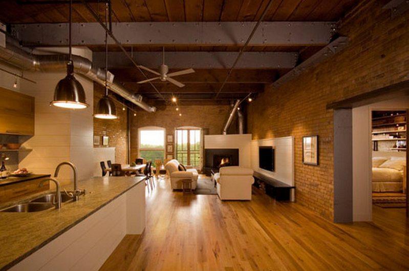 Loft apartment by Albertsson Hansen Architecture