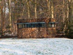Log Cabin on Wheels - Piet Hein Eek