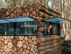 Log Cabin on Wheels - Artist