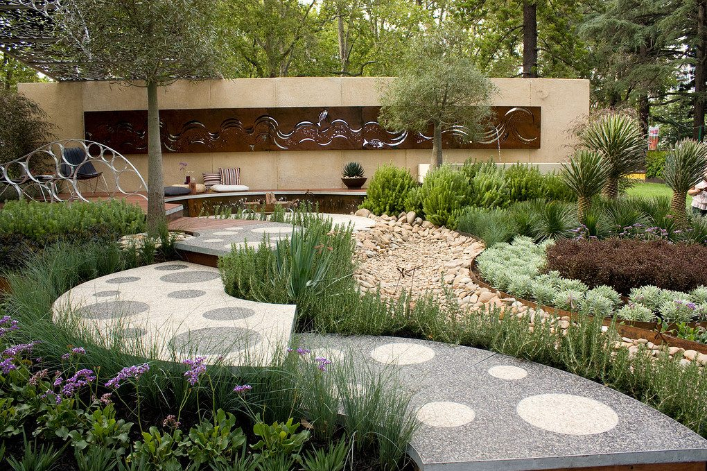 Dry Creek Bed Gardens The Owner Builder Network