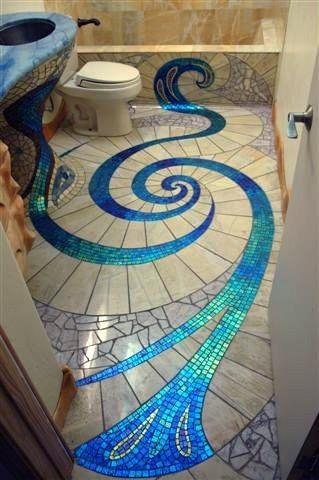 Magnificent, iridescent, flowing, beautiful.... what would you call this?