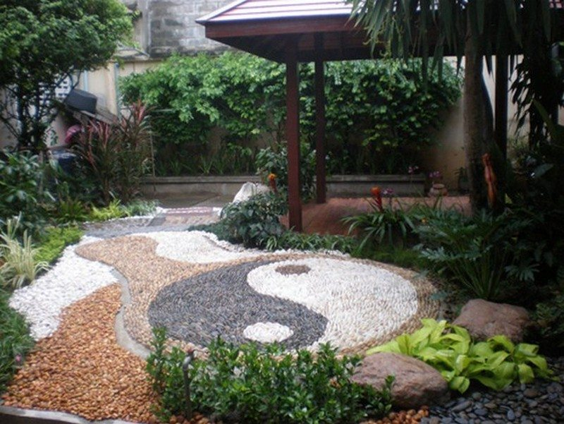 Mosaic Path Thai Garden Design The Owner Builder Network