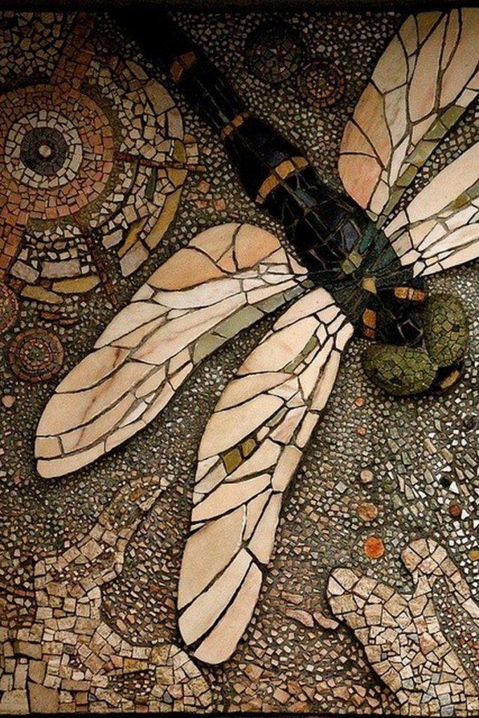 Mosaic dragonfly by Shimobros