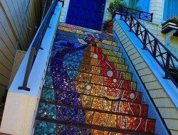 Amazing mosaic steps - Indulgy