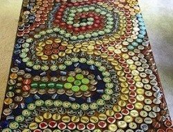 Bottle cap table top - Indulgy