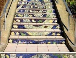 Tiled Steps Project - San Francisco