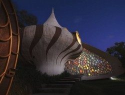 The Nautilus House At Night