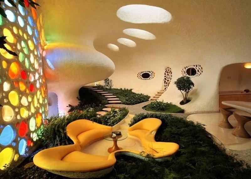 The Nautilus House - Living Room