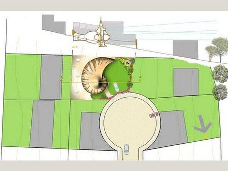 The nautilus house nautilus house unique houses for Nautilus garden designs