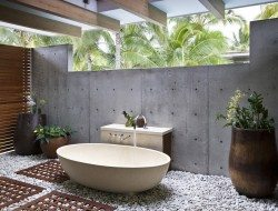 Outdoor bathroom - unknown location