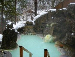 Have any of you wonderful people visited this hot spring in Shirahone Onsen, Gifu Prefecture, Japan?