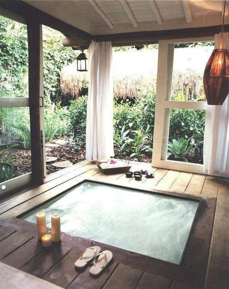 Cleansing the Soul - outdoor baths and showers | The Owner-Builder ...