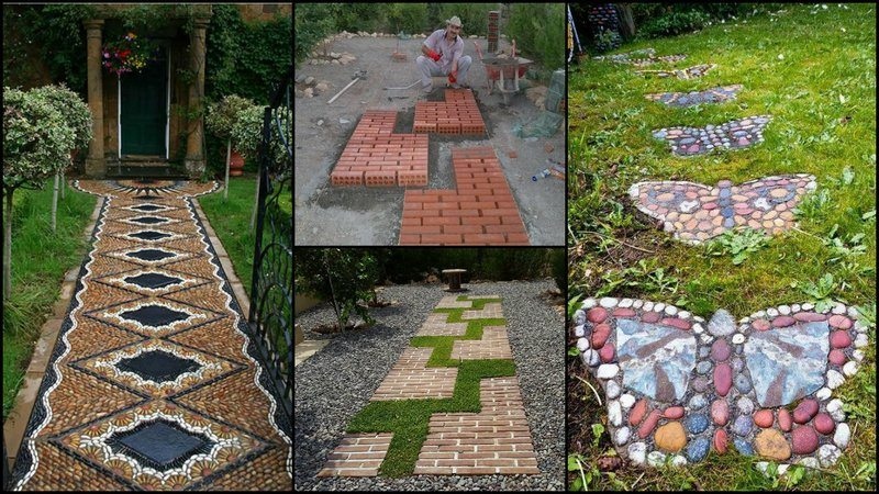Garden Paths Easy Pin It on Pinterest40 Really Clever DIY Garden