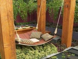 A tiny courtyard turned into paradise! What do you think? Could this enhance your lifestyle?