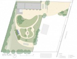 TexasTainer - Site Plan