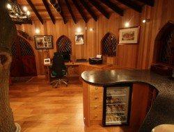 Treehouse office bar