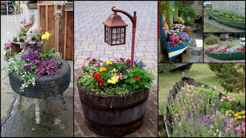 UniqueGardenPlanter
