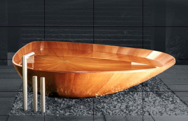 Superbe Bagno Sasso Ocean Shell, Another Hand Crafted, Made To Order Tub.