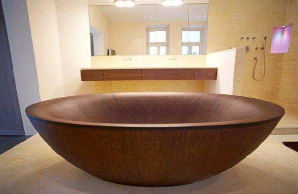 Timber Baths and Basins | The Owner-Builder Network