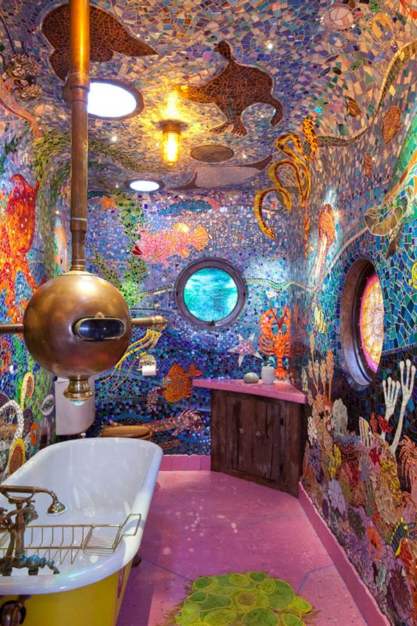 Yellow Submarine Bathroom